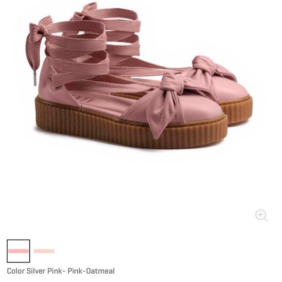 0889c42582f610 Puma x fenty bow creeper sandal